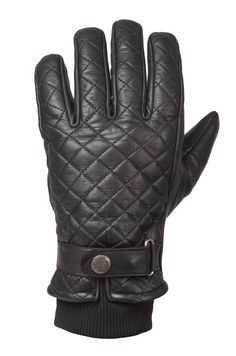 RIDE&SONS Bullit Insulated Leather Glove Black