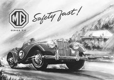 History of the MG TD - The MG T-types Classic Cars Online, Antique Cars, History, Antiques, Flyers, Vehicles, Posters, Vintage Cars, Antiquities