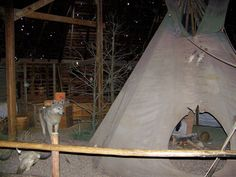 Dances with wolves movie set, SD