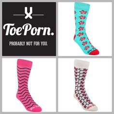 You can now shop the latest, boldest and trendiest TOEPORN online. See the full collection on www.toeporn.co.za #toepornsocks #bold #bright #gentleman
