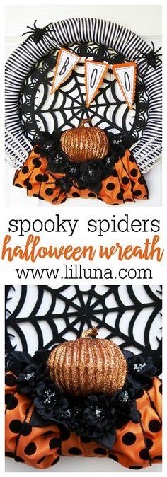 Spooky Spiders Hallo