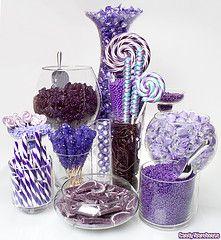 Purple Candy Buffet photo.