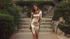 Cindy Crawford dazzles in metallic curve-hugging dress for night out Fashion Night, Fashion 101, Latest Fashion For Women, Fashion News, Womens Fashion, Fashion Trends, Cindy Crawford, Club Dresses, Sexy Dresses