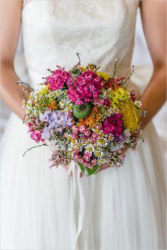 Colorful wedding bouquet #bouquet #weddingbouquet