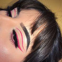 Baddie Makeup, Edgy Makeup, Makeup Eye Looks, Eye Makeup Art, Colorful Eye Makeup, No Eyeliner Makeup, Cute Makeup, Pretty Makeup, Skin Makeup
