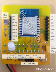 Squix TechBlog: ESP8266: Test board review