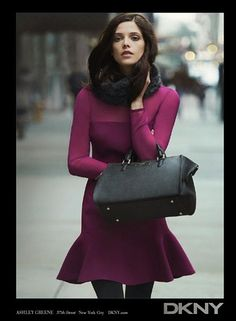 DKNY loves Ashley Greene, we can see why