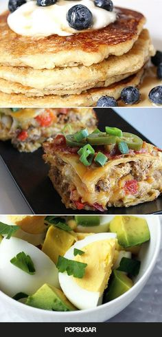20 recipes for help that are high in protein, fiber, and other essential nutrients to help keep you satisfied and on your weight-loss course. (Best Breakfast For Weight Loss) Healthy Breakfast For Weight Loss, Healthy Recipes For Weight Loss, Healthy Snacks, Healthy Eating, Eating Fast, Weight Loss Meals, Quick Weight Loss Diet, Lose Weight, Breakfast Desayunos
