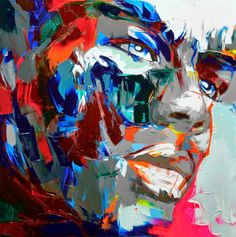 Françoise Nielly, 1960 ~ Palette Knife painter | Tutt'Art@ | Pittura * Scultura * Poesia * Musica |