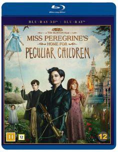 Neiti Peregrinen koti eriskummallisille lapsille (3D Blu-ray+Blu-ray) tai DVD 12.95€