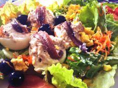 Huevos mimosos!! Tengo que confesaros que en verano es uno de mis platos favoritos. Disponible en el menu diario a 10,50€ menú. Restaurante Vinoteo Oviedo. c/ Campoamor, 29, Oviedo. T 984 08 16 96 #Asturias #Gastronomía #Calidad #ComidaCasera #Menu #HoraDeCenar #HoraDeComer #Comida #Comer #OviedoEstaDeModa #Foodie #FoodieLovers #Menú #GastroLovers #Fame #Vino #Vinos #IrDeVinos #Gastronomia #FoodPorn #Yummy