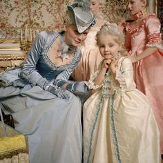 3 people, people sittingYou can find Versailles and more on our people, people sitting Marie Antoinette Movie, Marie Antoinette Costume, Rococo Fashion, Royal Fashion, Theatre Costumes, Movie Costumes, Royal Dresses, Vintage Princess, Princess Aesthetic