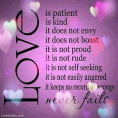 Love Never Fails love quote life faith lovequote prayer wisdom