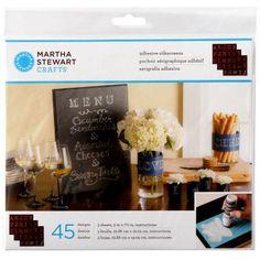 Martha Stewart Crafts® Chalkboard Silkscreens, Bodoni Alphabet