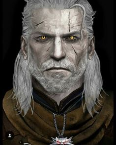 Artist: atypicalgamergirl | deviantart https://atypicalgamergirl.deviantart.com/art/Geralt-of-Rivia-678066220