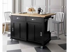 Portable Kitchen island with Seating Decorations Inspiring with Furniture Design One treatment for this problem is to consider buying a portable kitchen island. A portable kitchen island or kitchen island on wheels is actually Kitchen Island On Wheels, Kitchen Design Small, Portable Kitchen, Kitchen Design, Black Kitchens, Portable Kitchen Island, Black Kitchen Island, White Kitchen Island, Kitchen Island Cart