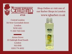 A very special lemon cologne, with Its pure formula leaves a fresh feeling & provides a long lasting sweet fragrance. A must-have for post-shave! £5.99. http://wu.to/GDpu7Q  #TGB #London #BarberShop