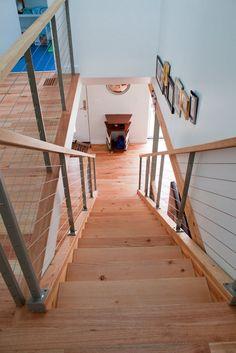 railing ideas (via Re-Nest: Adrian and Gregg's green home tour)