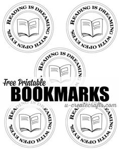 Bookmark Printable from MichaelsMakers U-Create Crafts