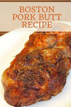 Boston Pork Butt: World's Best Pork Roast Recipe - Delishably - Food and Drink Best Pork Roast Recipe, Pork Roast Recipes, Meat Recipes, Cooking Recipes, Boston Butt Crockpot Recipe, Best Boston Butt Recipe, Recipes With Pork Roast, Dinner Recipes, Recipes