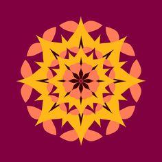 "Kevin L Brooks on Twitter: ""peach petals: #mandala #mandalas #petals #flowers #digitalart #mandalaart #kaleidoscope #vectorart #geometricart #fourcolors #graphicdesign #color #progression ... https://t.co/vlQXRzxjl0"""