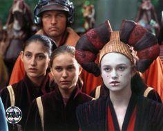 Star Wars - Queen Padme Naberrie Amidala and her decoy - Phantom Menace - Keira Knightley