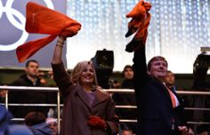 Los Reyes de Holanda en los Juegos de Invierno de Sochi