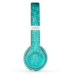 The Turquoise Mosaic Tiled Skin Set for the Beats by Dre Solo 2 Wireless Headphones Cute Headphones, Bluetooth Headphones, Beats By Dre, Tech Gifts, Turquoise, Teal, Headset, Phone Accessories, Iphone Cases