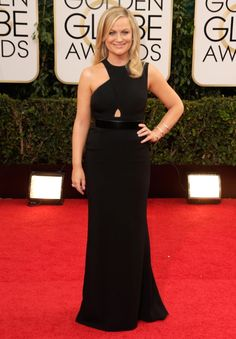 She's never one to shy away from cracking a joke, but Amy Poehler meant serious business in this asymmetrical Stella McCartney gown -- one of the best looks of the night.