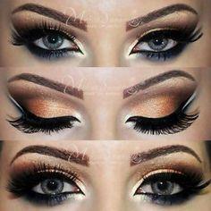 make up by melissa samways gold