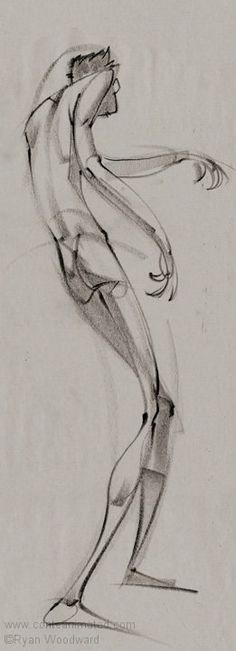 Art of Animation (Posts tagged Ryan Woodward) Gesture Drawing, Anatomy Drawing, Life Drawing, Figure Sketching, Figure Drawing, Body Sketches, Drawing Sketches, Character Art, Charcoal Drawings
