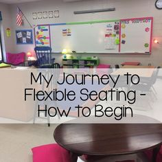 My Kind of Teaching: My Journey Into Flexible Seating - Making the Leap