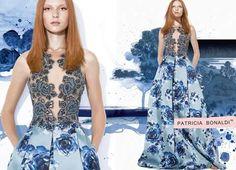 Azul floral!