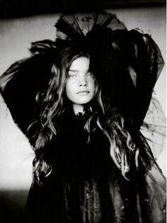 Natalia Vodianova by Paolo Roversi for Vogue Italy September 2004