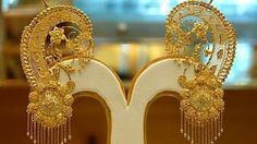 Gold Jewelry Making 1 Gram Gold Jewellery, Fancy Jewellery, Gold Jewellery Design, Stylish Jewelry, Gold Jewelry, Jewelry Sets, Jewlery, Gold Necklace, Jewelry Making