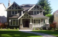 medium sized houses | Medium Size Homes – 50 foot wide lot, Vancouver, BC. A selection of ...