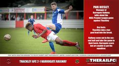 Paul Beesley's post match reaction to the Thackley game.        @therailfc @ThackleyAFC @Howell_rm