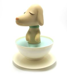 PupCup is a Designer toy designed by Yoshitomo Nara and manufactured by Cereal Art in 2002 Toy Art, Vinyl Toys, Vinyl Art, Art Jouet, Yoshitomo Nara, Superflat, Cute Toys, Designer Toys, Doll Toys