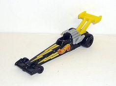 HOTWHEELS DRAGSTER Vintage Mattel McDoanld's Race Car COMPLETE 1993