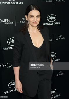Juliette Binoche attends the 'Women in Motion' Prize Reception part of The 69th Annual Cannes Film Festival on May 15, 2016 in Cannes, France.