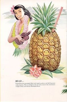 From the Los Angeles Public Library Menu Collection: The Luau, a 1950s Tiki Bar in Beverly Hills