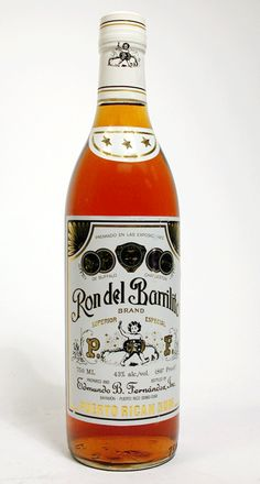 """Made in two- and three star variety. Forget whatever you think rum is supposed to be; established in 1880 by Eng. Pedro F. Fernandez in the """"Hacienda Santa Ana"""" at Bayamon, Puerto Rico.  For over 100 years the Fernandez family has manufactured """"Ron del Barrilito"""" at the place of origin, using the same name, formula and aging process.  This special rum is a blend of rums aged, each undisturbed, from 6 to 10 years in charred oak barrels"""