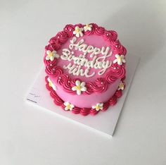 Gorgeous Cakes, Pretty Cakes, Amazing Cakes, Mini Cakes, Cupcake Cakes, Cupcakes, Pastel Cakes, Cute Baking, Pretty Birthday Cakes