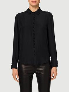 victorian button up blouse