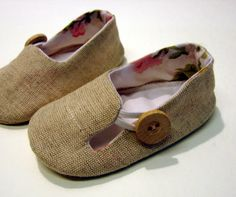 Baby Loafer shoes sewing pattern