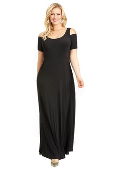 Mangolino Dress - Büyük Beden Elbise MD1101 38-60 Kampanya Siyah