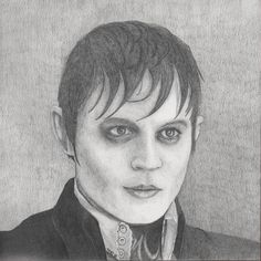 Johnny Depp as Barnabus Collins (Dark Shadows) This is just a drawing but would make a great tat for a Depp sleeve.