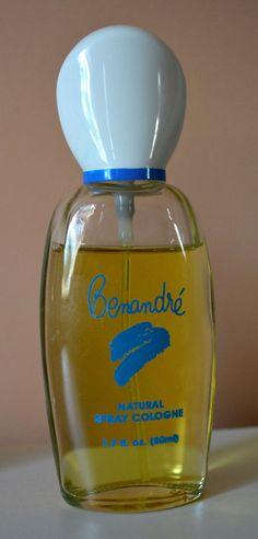 RARE Vintage BENANDRE Natural Spray Cologne Perfume 1.7 Fl Oz 85% Ben Rickert  #BenRickert