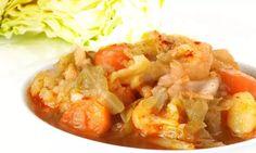 Receta de Repollo con patatas y zanahorias