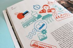 Illustration for Monocle magazine — issue 78 on Behance